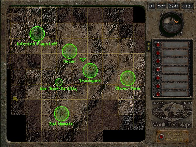 Fallout 2 Locations. photo fo2 worldmap in the album fallout 2 by ...