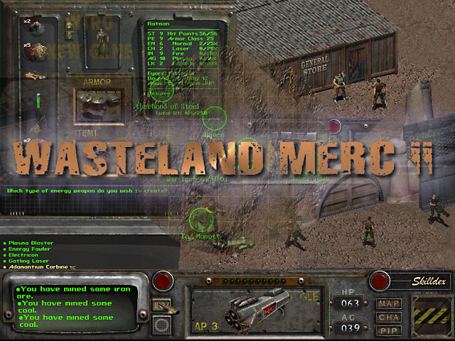 Another promo pic image - Wasteland Merc 2 mod for Fallout 2