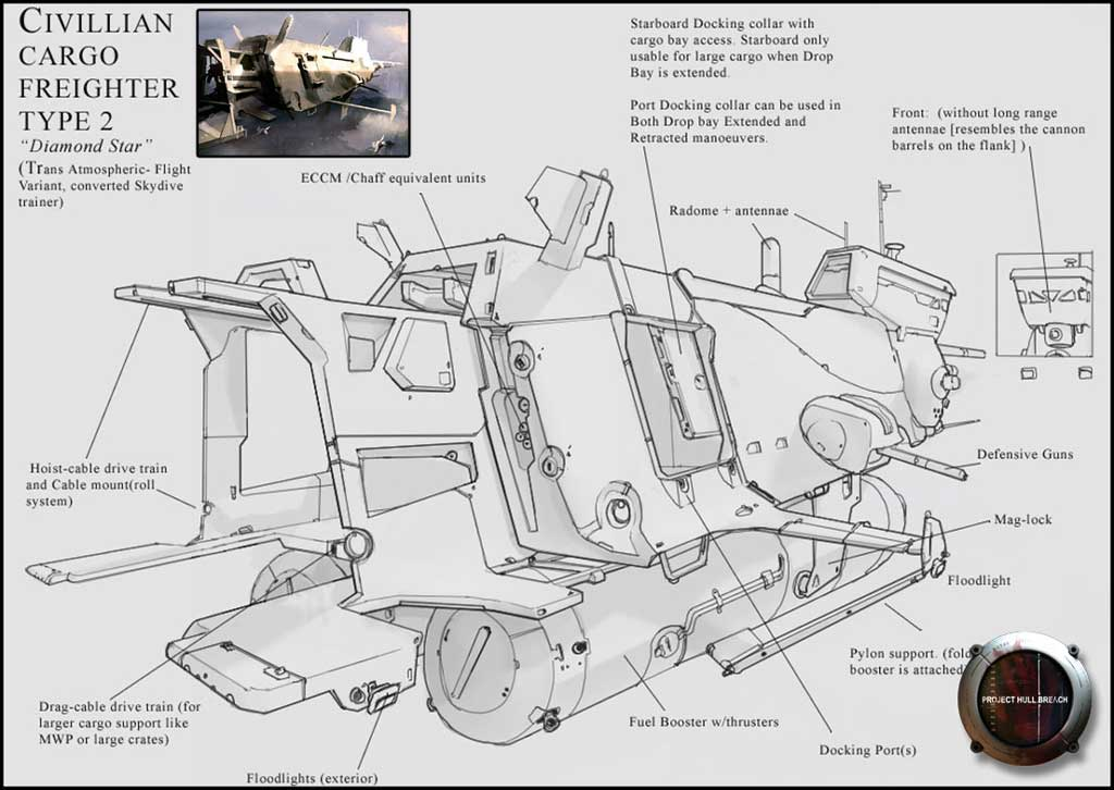 Ship Schematic image - Project Hull-Breach mod for Half-Life 2 - Mod DB