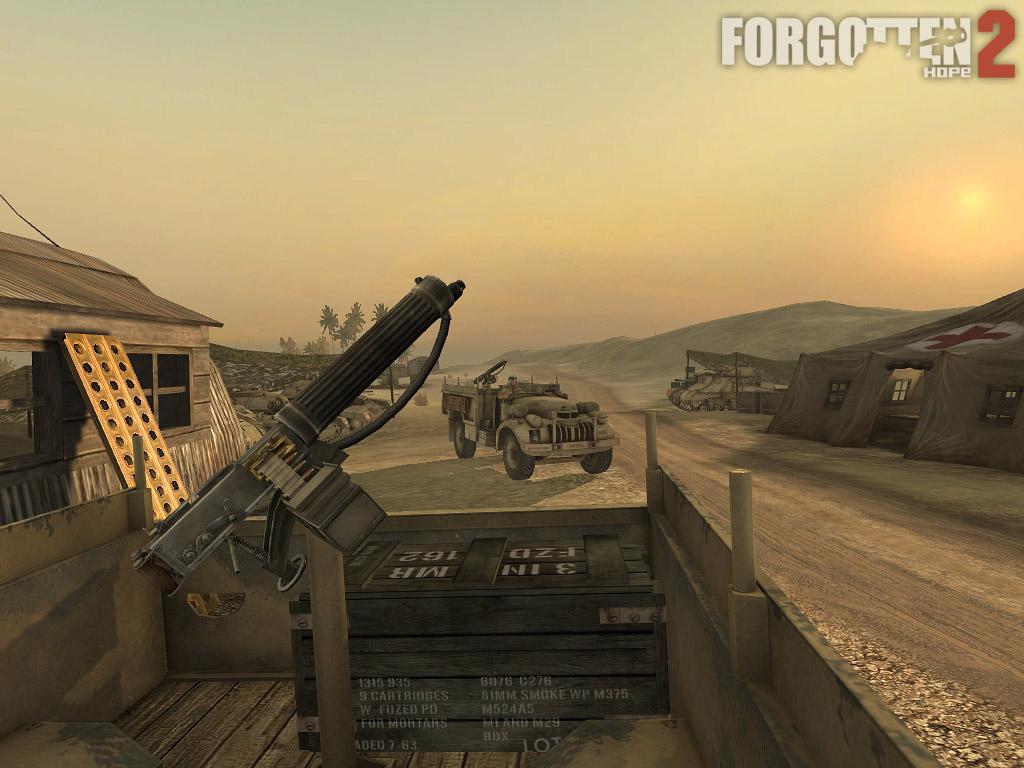 Long Range Desert Group Chevy image - Forgotten Hope 2 mod ...