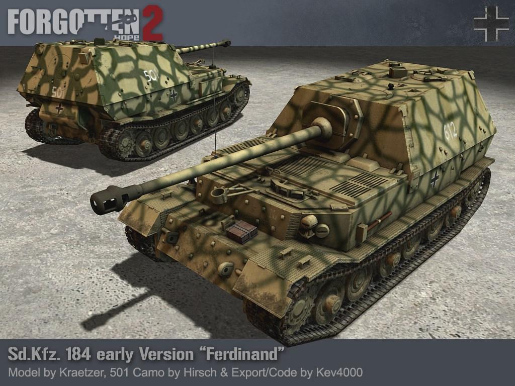 Panzerj 228 Ger Tiger P Quot Ferdinand Quot Image Forgotten Hope 2