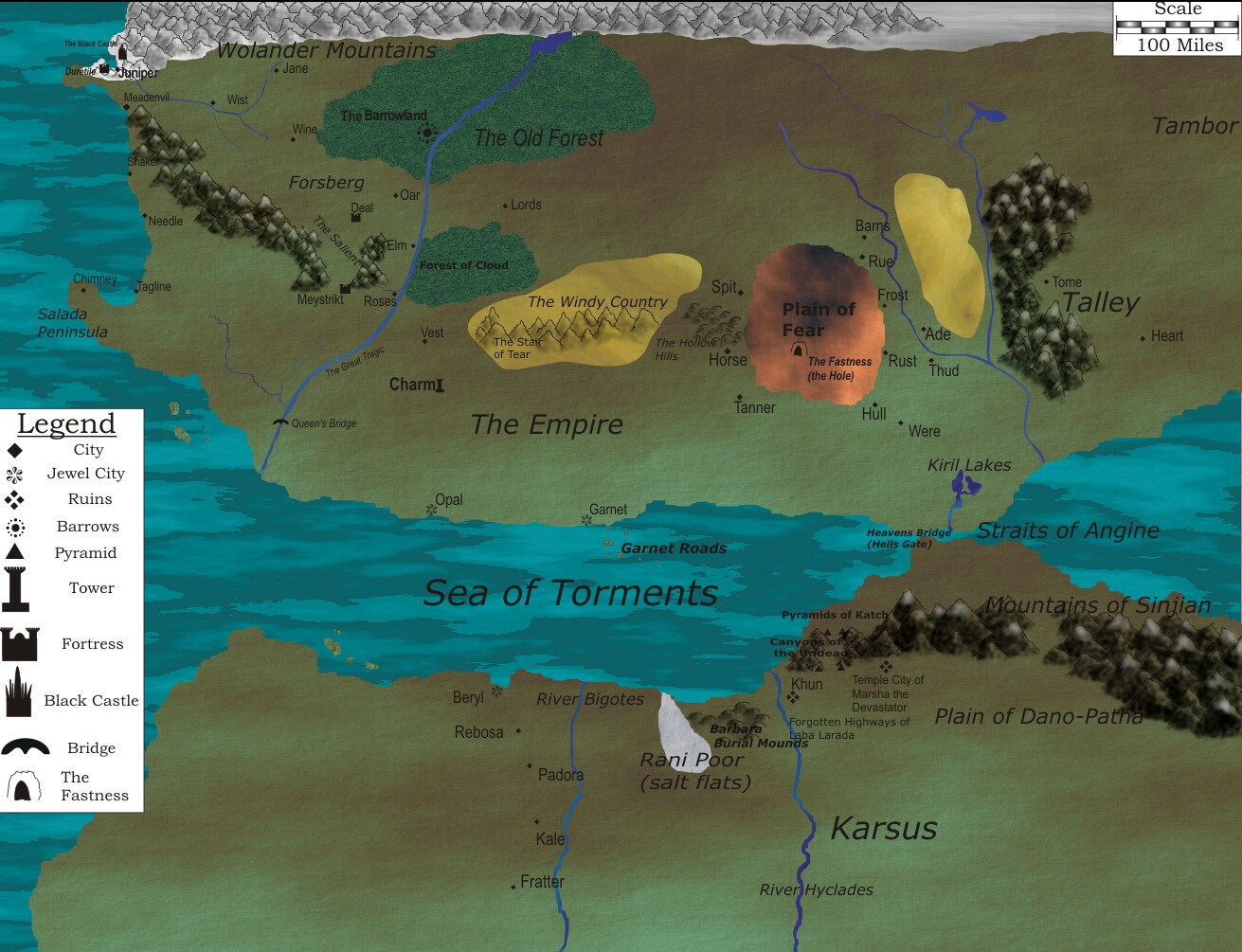 Map of the World image   The Black Company mod for Warcraft III