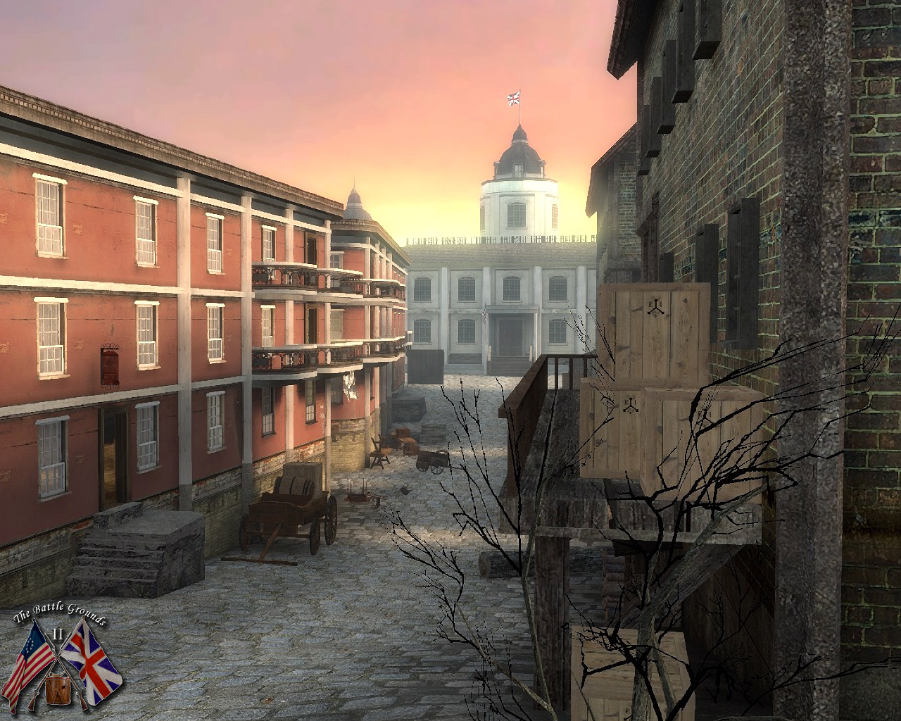 Screenshot from the upcoming new version of Battlegrounds 2 (planned release Oct 8 2011)