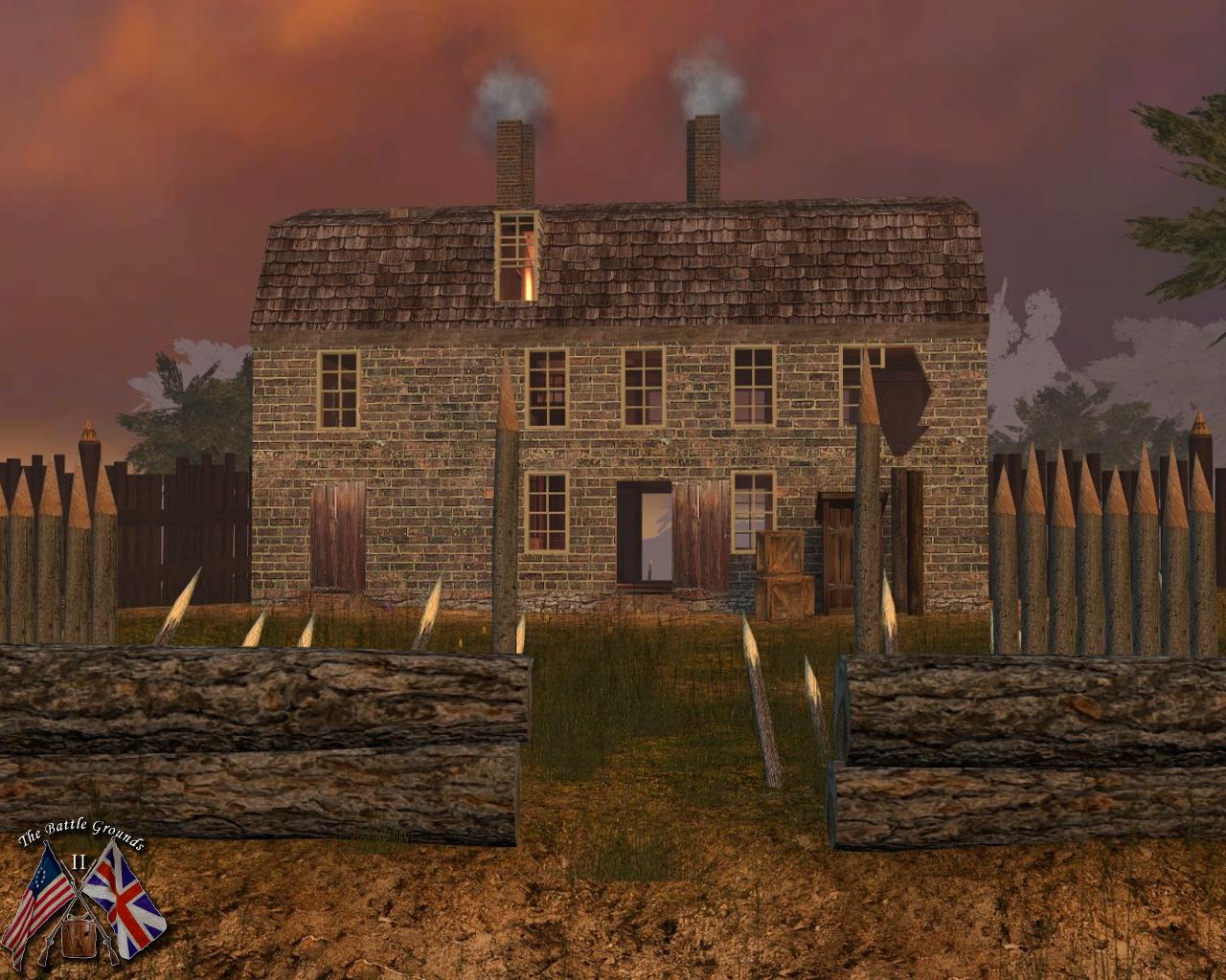 Screenshot of map BG_Plateau in BG2 2.1