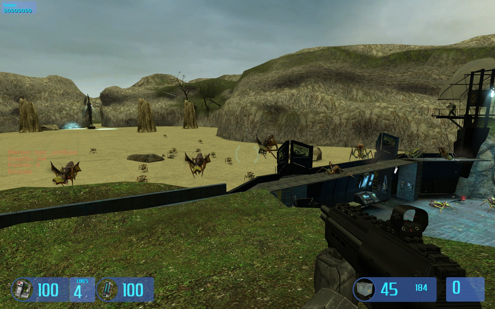Houndeye npc image - obsidian conflict mod for half-life 2