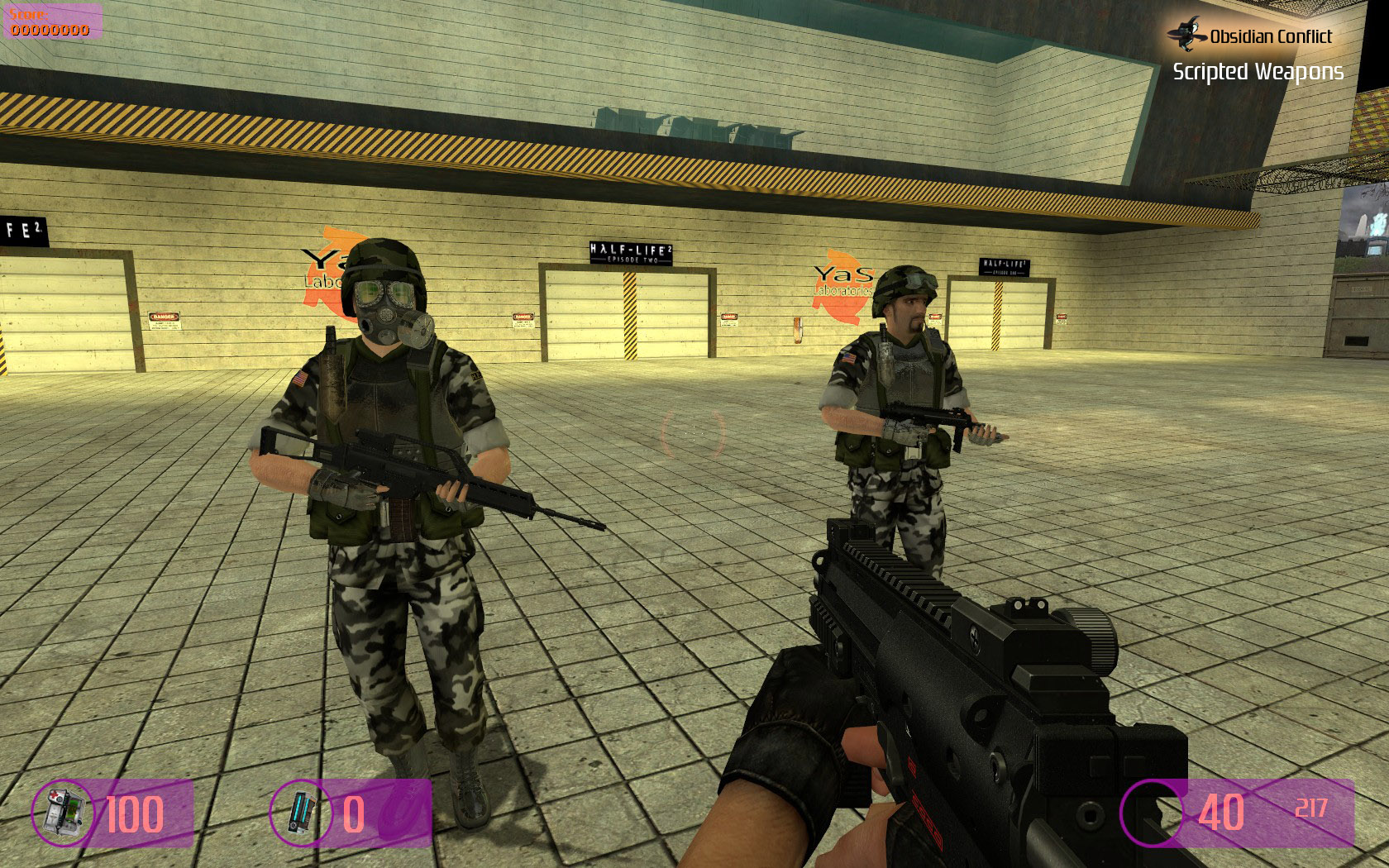 Objectives image - obsidian conflict mod for half-life 2