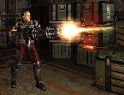 Chain NailGun image - Quake 4: HardQore mod for Quake 4 - Mod DB