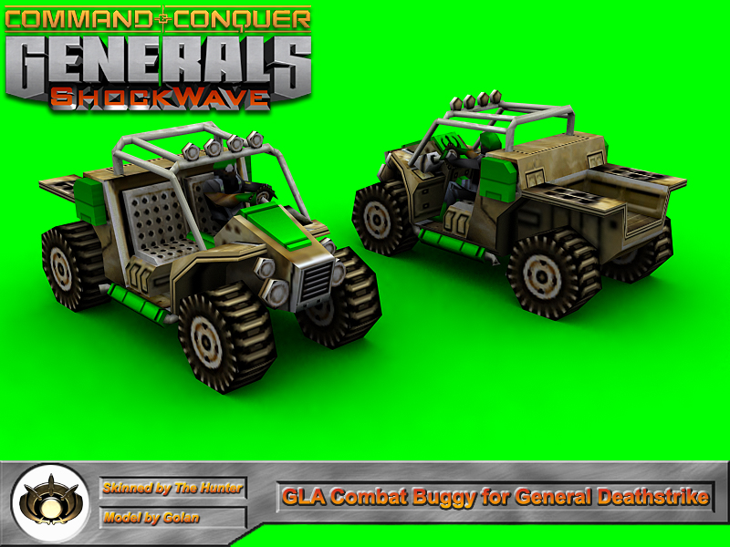 Combat Buggy for General Deathstrike
