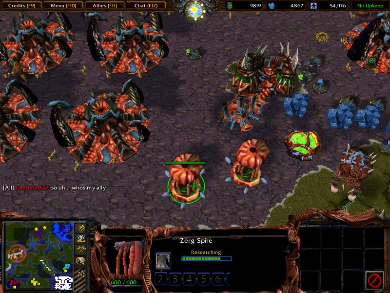 New Zerg Console Skin image - Starcraft 1.5: Fusion Conversion ...