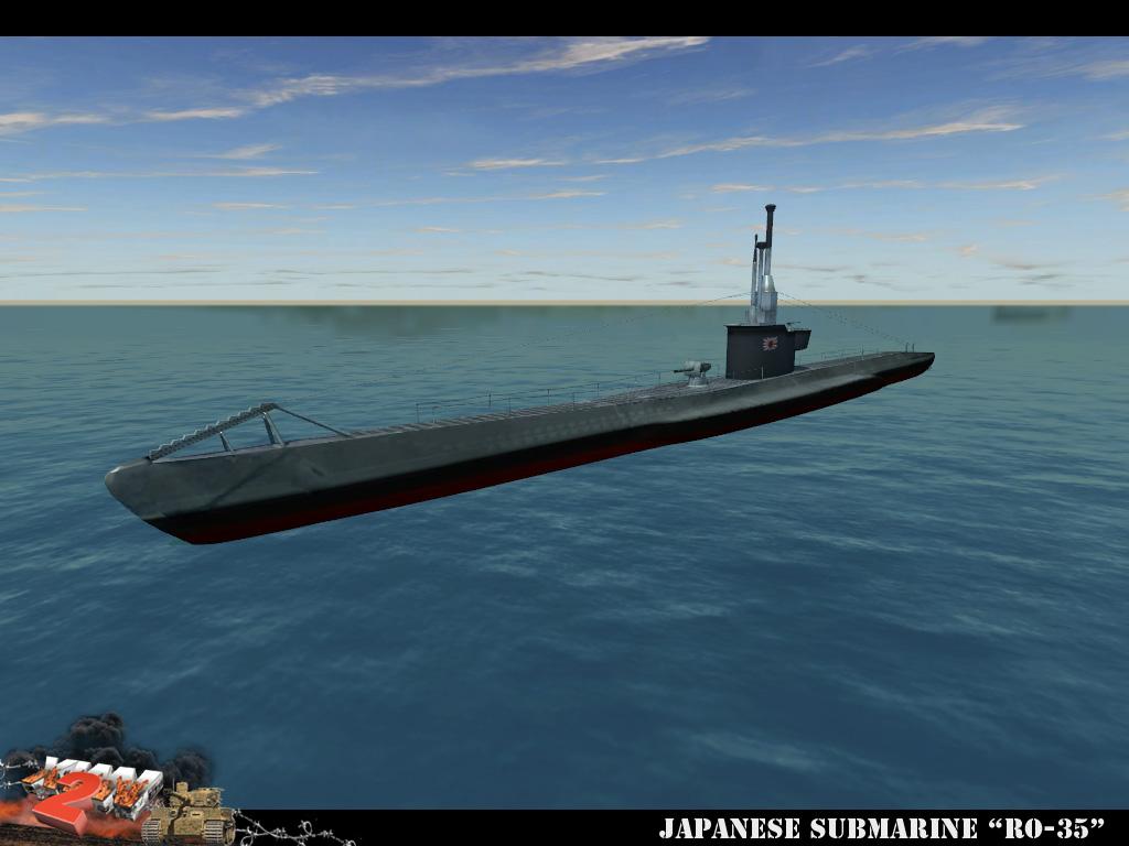 бателфилд 1942 подводная лодка