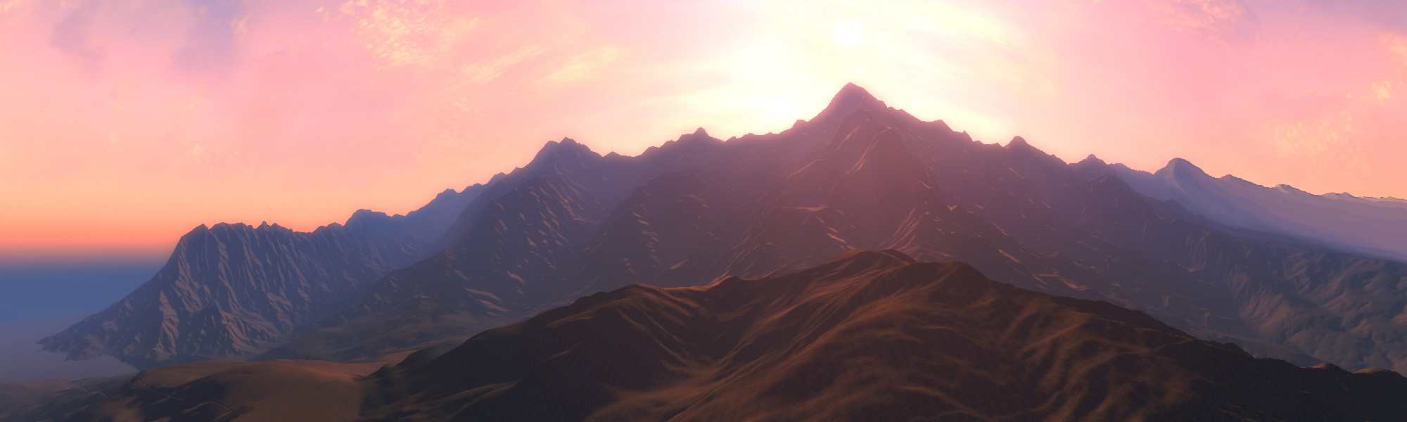 Ingame Panorama 1 image - Adventure Middle Earth mod for