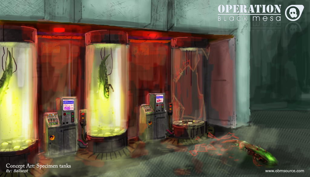 April 09 Media Release Concept art image - Operation: Black Mesa mod for Half-Life 2 - Mod DB