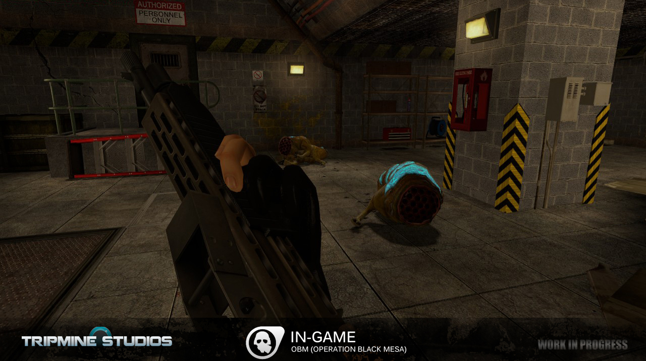 In-game image - Operation: Black Mesa mod for Half-Life 2