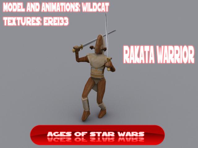 Rakatan Warrior image - Ages of Star Wars mod for Star Wars: Empire
