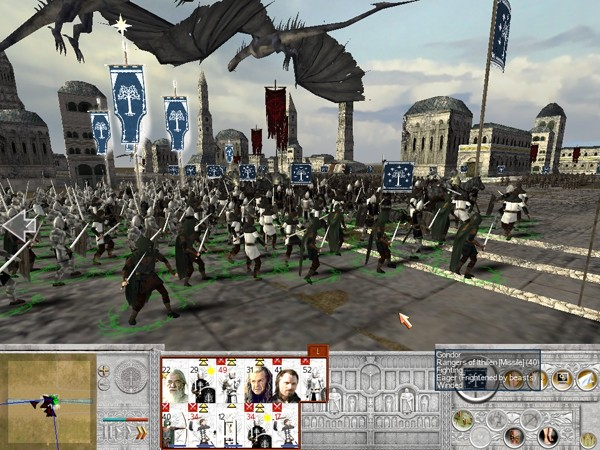 Osgiliath Battle Image The Lord Of The Rings Total War Mod For