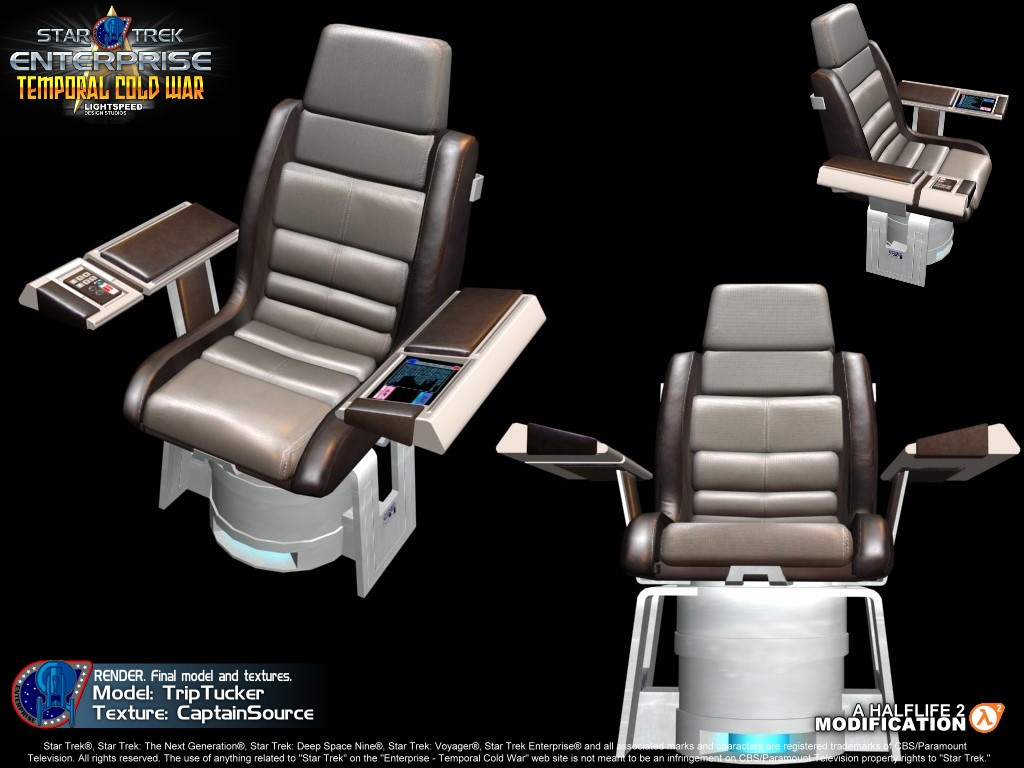 Captains chair star trek - Report Rss Captains Chair Render View Original