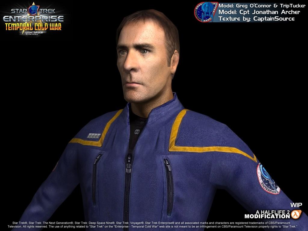 Star Trek Enterprise Archer Captain Archer Image Star
