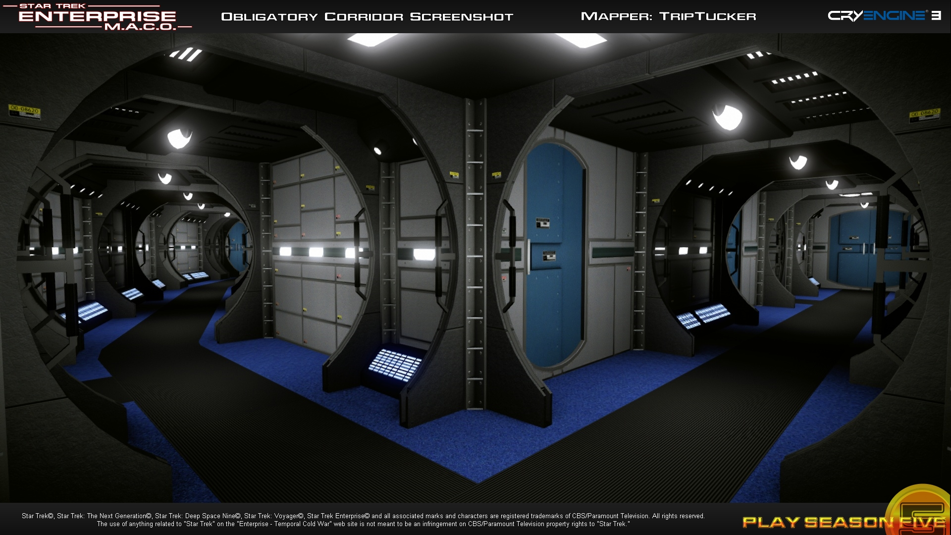 Official ST09 Site Update: Check Out New 'Panoramas ... |Uss Enterprise Corridors