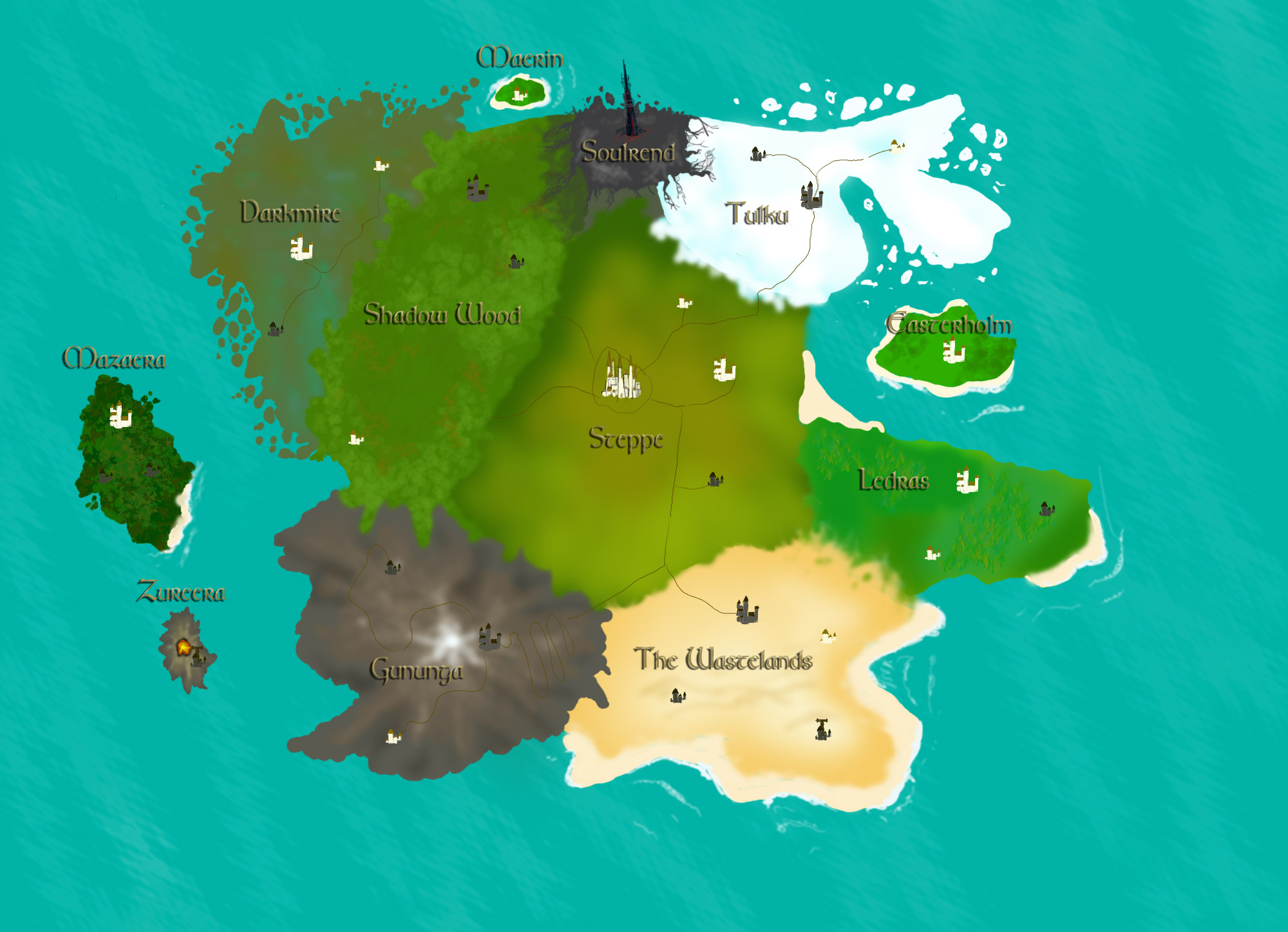 World Map Version 1 Image Project Serpent Reign Of Venom Mod For