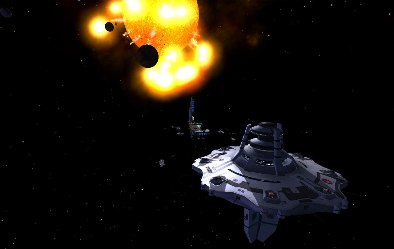 Orbital Station image - Homeworld 2 Complex mod for ...