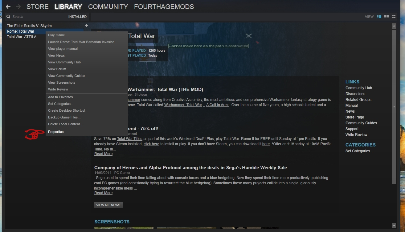 Steam Installation Instructions image - The Fourth Age