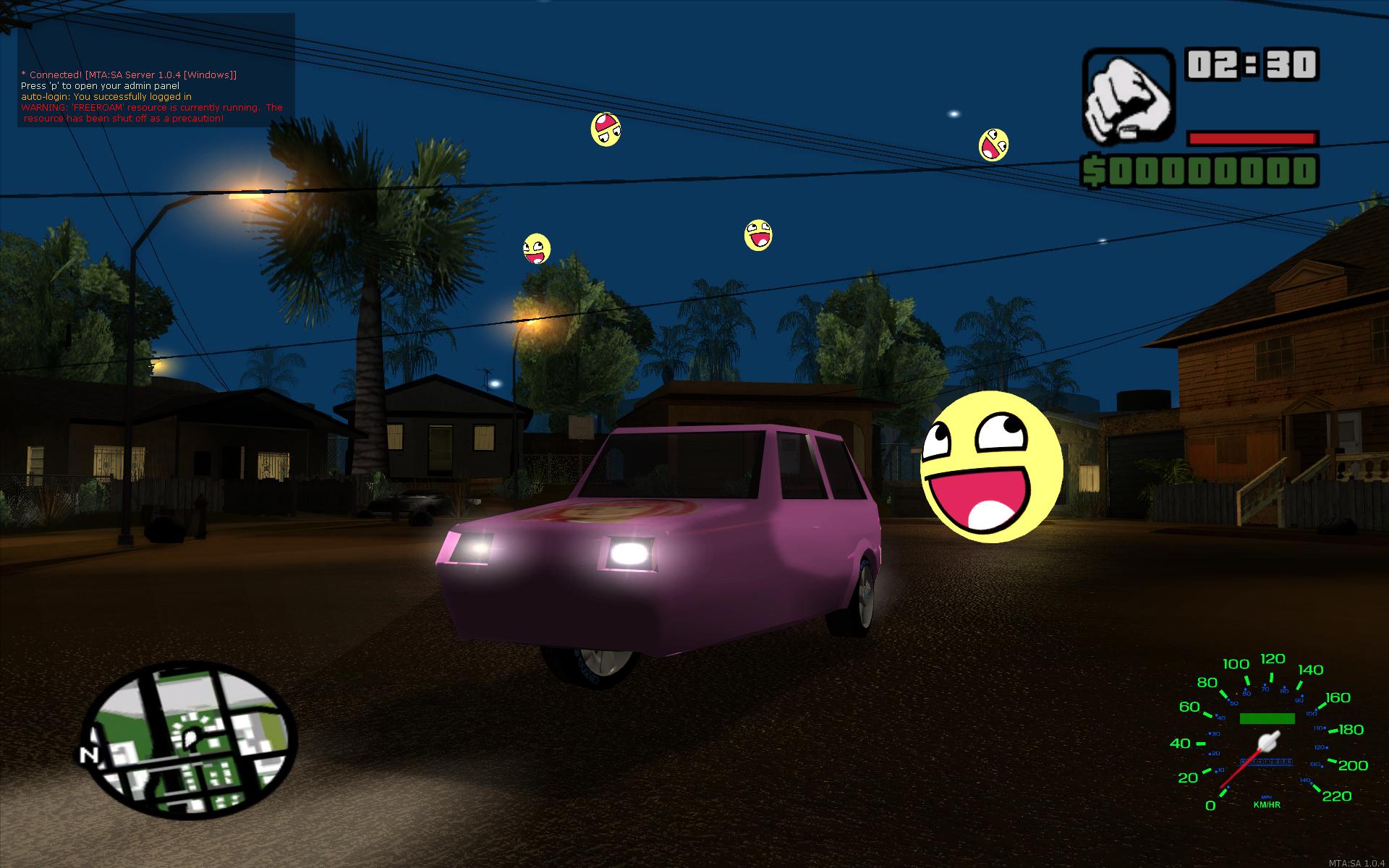 Custom Models image - Multi Theft Auto: San Andreas mod for Grand