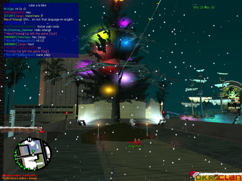 DKR] Christmas screenshots image - Multi Theft Auto: San Andreas ...