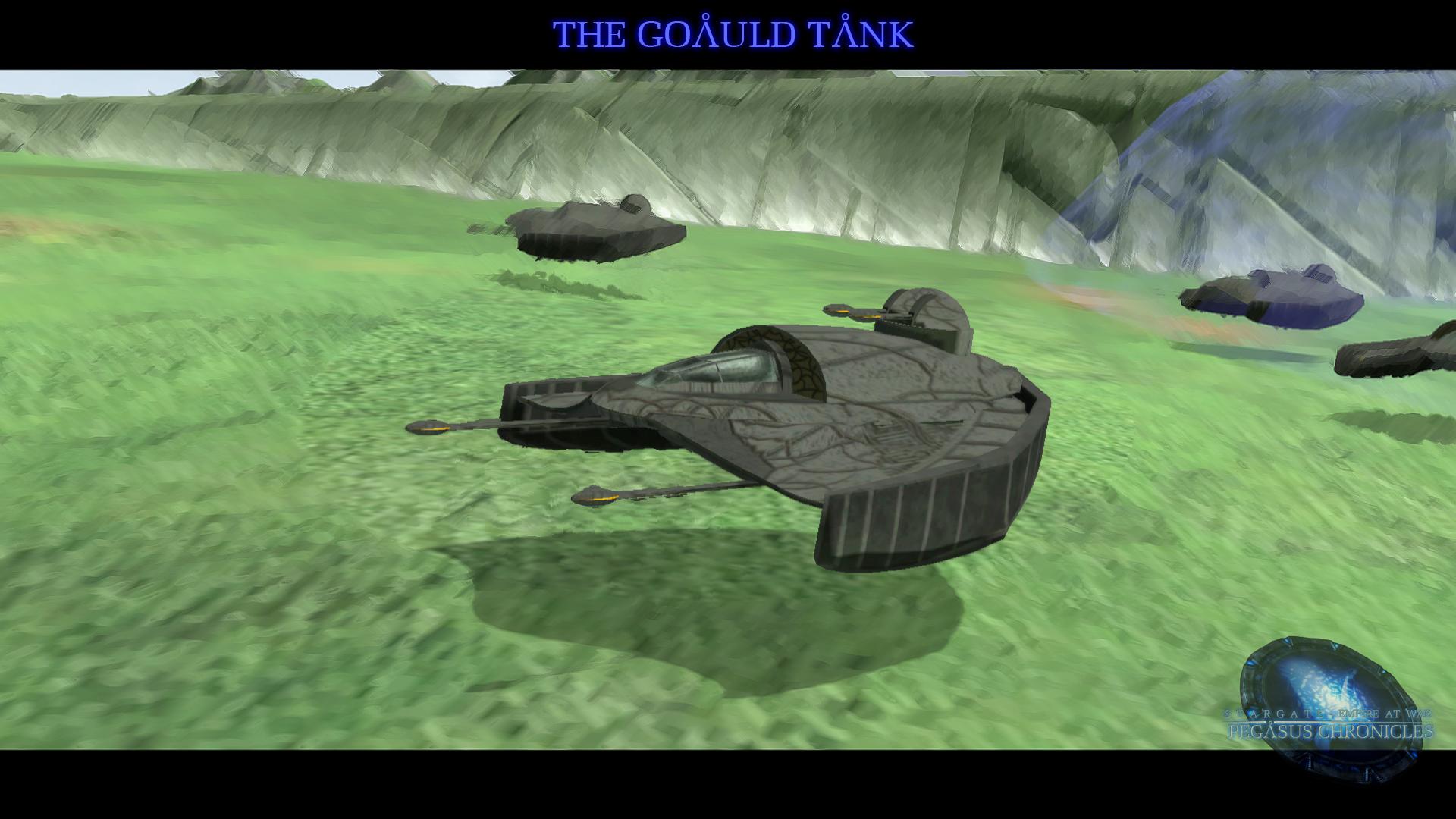 Final Model - Goauld Tank