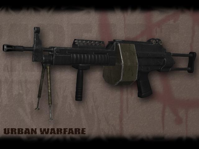 Intimidating looking guns