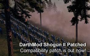 DarthMod Shogun II