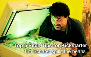 Tim Schafer's Top 5 Pitch Tips for Kickstarter Success
