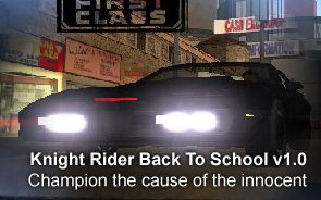 Knight Rider Back To School