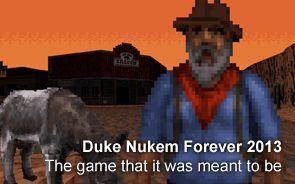 Duke Nukem Forever 2013