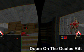 Play The Original Doom On The Oculus Rift
