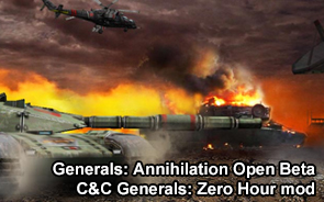 Generals: Annihilation Open Beta