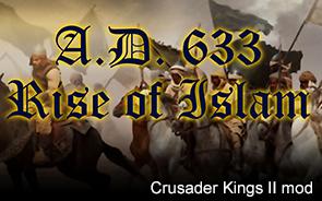 A.D. 633: Rise of Islam