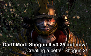 DarthMod: Shogun 2