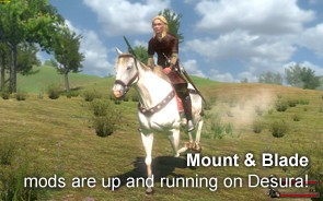 Mount and Blade on Desura