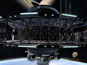 Cedar lattice? On a space station?