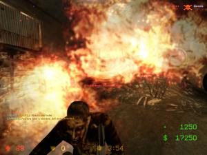 Don't think zombies like fire...